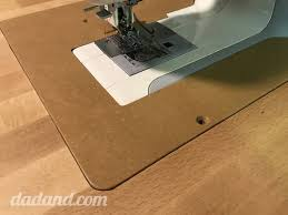 Acrylic Extension Table For Sewing Machine