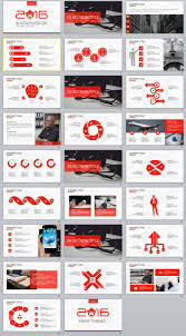 26 Red Business Report Powerpoint Templates The Highest Quality
