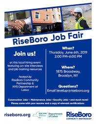 Flyer Jobs Riseboro Job Fair On June 6th Riseboro