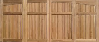 wood garage door panelsWood Garage Doors  Wooden Overhead Door  Paint Grade Garage Doors