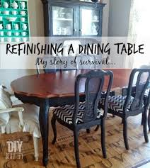 refinishing dining table. refinishing a dining table diy beautify