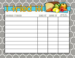 Empty Food Chart 37 Scientific Bedtime Reward Chart Printable Free