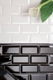 metro tile - white/black I am in love :)