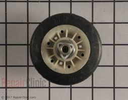 kenmore he2 dryer. kenmore dryer drum support roller \u0026 axle he2