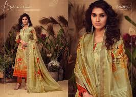 Belliza Designer Studio Online Belliza Designer Studio Kesari Dress Material 10 Pcs Catalog