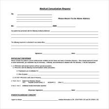 Referral Form Templates Medical Consult Form Template Rome Fontanacountryinn Com