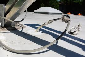 repairing and upgrading a winegard sensar rv antenna spliced and mis matched coax
