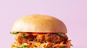 Crispy Chicken Korean Burger - Leon Restaurants