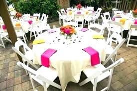 simple centerpieces for round tables simple wedding