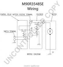 prestolite alternator wiring diagram marine wiring library leece neville starter wiring diagram wiring diagram leece neville alternator best m90r3548se starter motor product