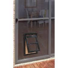 diy dog doors. Pillar Products 202 X 254mm Medium Flyscreen Pet Door Black Diy Dog Doors R