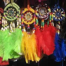 Dream Catchers Wholesale Ecuador Craft Wholesale Dreamcatcher Beaded 100 inch DC100B 14