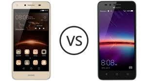 Huawei Y5II vs Huawei Y3II - Phone Comparison