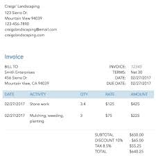 Contractor Invoice Enchanting What Is An Invoice QuickBooks