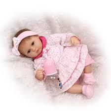 16 Inch Reborn Baby Dolls Soft Newborn Real Like Fake Doll Kids Toys ...