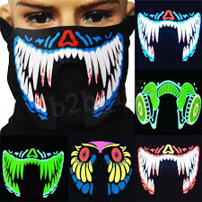 Cool Mask Designs 2019 27 Design Led Luminous Flashing Cool Face Mask Party Masks Light Up Dance Halloween Decoration Cosplay Home Party Dec Mma332 20 2 From Top_toy