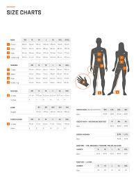 Uk Glove Size Conversion Chart Size Chart Sportful