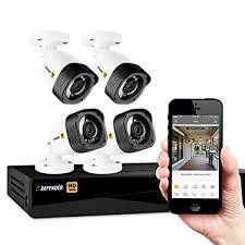 Defender HD 1080p 4 Channel 1TB DVR Security Surveillance System and Long Range Night Vision Amazon.com :