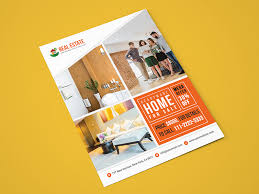 Sales Flyers Template Simple Real Estate Sales Flyer Template By Tauhid Hasan