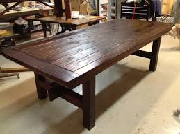 custom wood dining tables stylish rustic table and add with regard to 16 effectcup com