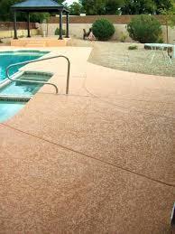 deck concrete pool deck resurfacing concrete pool deck resurfacing options