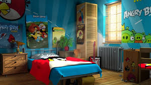Angry Birds Bedroom Ideas!