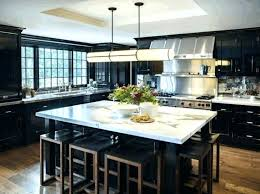 for dark cabinets compact contemporary kitchen with