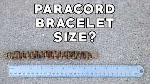 How To Determine What Size Of Paracord Bracelet You Need