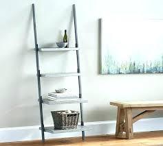 bookcases pottery barn leaning bookcase ladder full size of bookshelf wood regarding wall shelf house