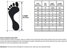 Footwear Size Chart India To Uk Ten Womens Red Wedges