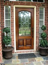 exterior doors with glass wood exterior doors with glass about remodel creative home design furniture decorating exterior doors with glass