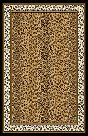 home dynamix orange animal print rug