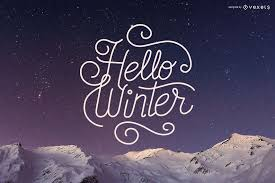 background snow hello winter message 2017