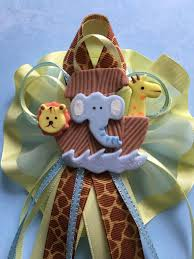 noahs ark baby shower ideas for baby shower party. Noah\u0027s Ark Handmade Corsage/Pin/Birthday/Baby Shower /Christening/Safari Corsage Noahs Baby Ideas For Party
