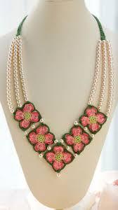 Crochet Necklace Pattern Free