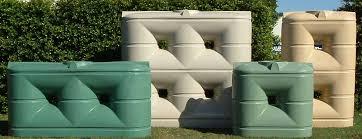 poly slimline rain water tanks
