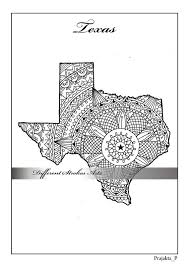 Adult Coloring Maps Texas Map States Maps Coloring Pages Us Map