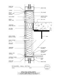 glass curtain wall section detail pdf thesofasite co