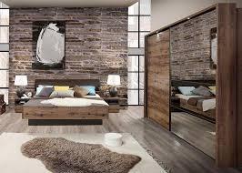 Schlafzimmer Komplett Schrank Doppelbett 180x200cm Script