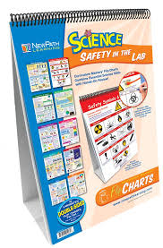 Newpath Learning Lab Safety Flip Chart Set Teaching Supplies Classroom Safety