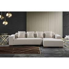 modern fabric sectional sofas. Perfect Sofas Shop Modern Fabric Sectional Sofa  LYON On Sale Free Shipping Today  Overstockcom 10591960 To Sofas