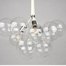 bubble lighting fixtures. Modern Black White Creative Glass Bubble Pendant Lamp Light Shade Suspension Hanging Fixture For Bar Dinning Room PL455-in Lights From Lighting Fixtures