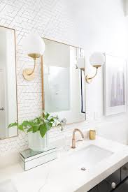 Modern bathroom remodel Luxury Modern Bathroom Remodel Before And After The Posh Home The Posh Home Modern Master Bathroom Remodel Before And After The Posh Home