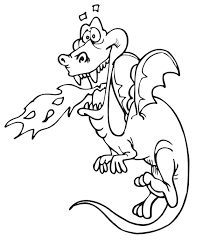 Dragon Coloring Pages Kids World Coloring Home