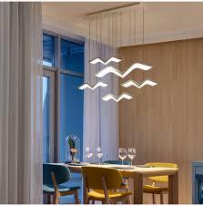 Großhandel Yooe Moderne Led Kronleuchter Dimmbar Für Esszimmer Schlafzimmer Arbeitszimmer Hanging Deco Diy Anhänger Oberflächenmontage Fernbedienung