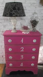 pink shabby chic furniture. Hot Pink Shabby Chic Number Dresser Furniture O