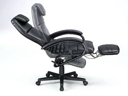 desk chairs leather office chair with footrest desk recliner ergonomic reclining chairs pain attachment desk