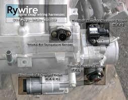 92 00 honda acura engine wiring, sensor & connector guide honda  at Diagram Of An 95 Del Sol Si Model Wire Harness