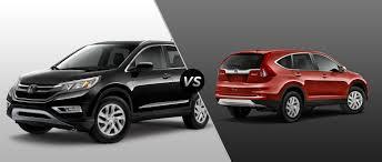 2015 Honda CR-V EX-L vs 2015 Honda CR-V EX
