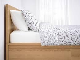 Ikea malm storage bed Review Ikeamalmstoragebedoak584x438jpg Remodelista Malm High Bed Frame